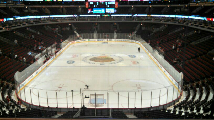 Seat view from section 226 at the United Center, home of the Chicago Blackhawks