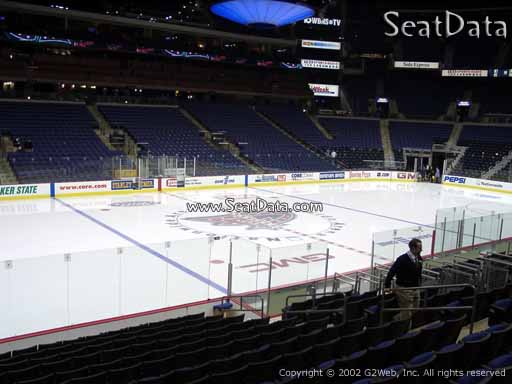Seat view from section 105 at Nationwide Arena, home of the Columbus Blue Jackets