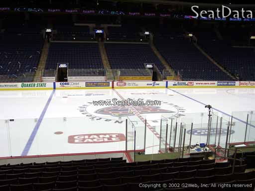 Seat view from section 115 at Nationwide Arena, home of the Columbus Blue Jackets