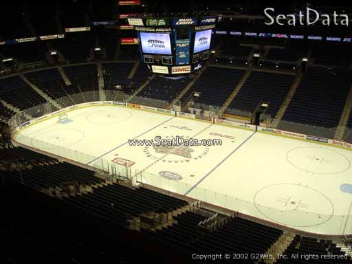 Seat view from section 215 at Nationwide Arena, home of the Columbus Blue Jackets