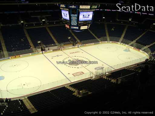 Seat view from section 219 at Nationwide Arena, home of the Columbus Blue Jackets