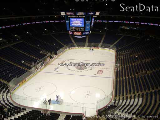 Seat view from section 223 at Nationwide Arena, home of the Columbus Blue Jackets