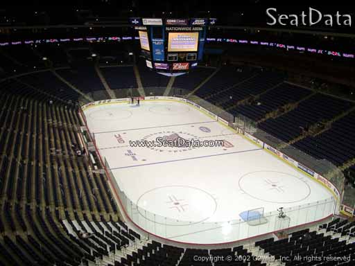 Seat view from section 226 at Nationwide Arena, home of the Columbus Blue Jackets