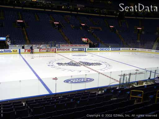 Seat view from section 117 at the Scottrade Center, home of the St. Louis Blues