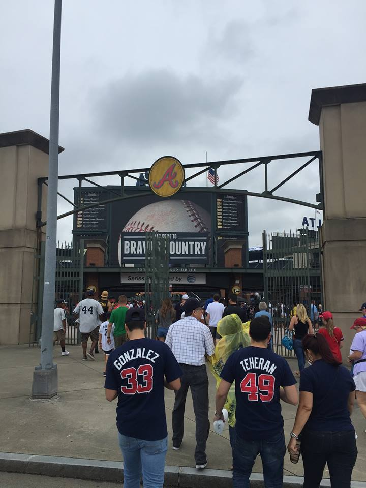 Turner Field North Entrance, Home of the Atlanta Braves