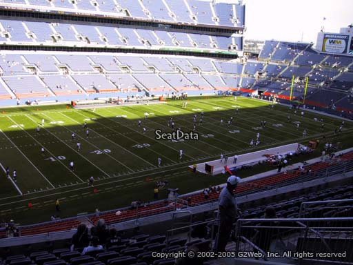 Seat view from section 315 at Sports Authority Field at Mile High Stadium, home of the Denver Broncos