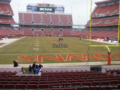 Seat view from section 146 at FirstEnergy Stadium, home of the Cleveland Browns