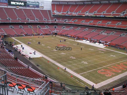 Seat view from section 316 at FirstEnergy Stadium, home of the Cleveland Browns