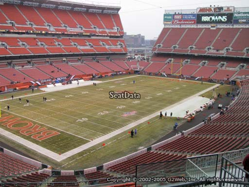 Seat view from section 326 at FirstEnergy Stadium, home of the Cleveland Browns