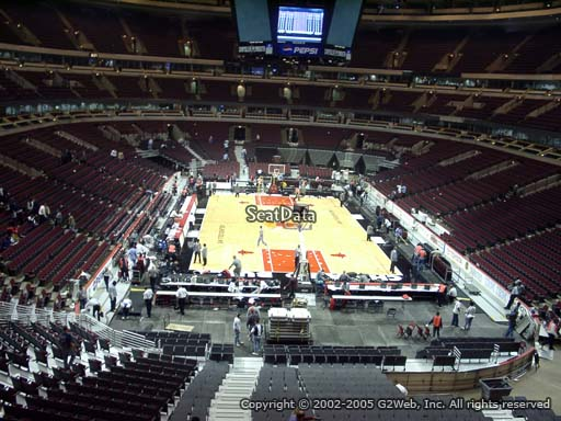 Seat view from section 226 at the United Center, home of the Chicago Bulls