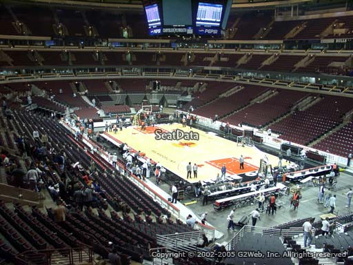 Seat view from section 229 at the United Center, home of the Chicago Bulls