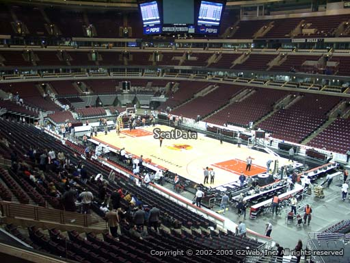 Seat view from section 230 at the United Center, home of the Chicago Bulls