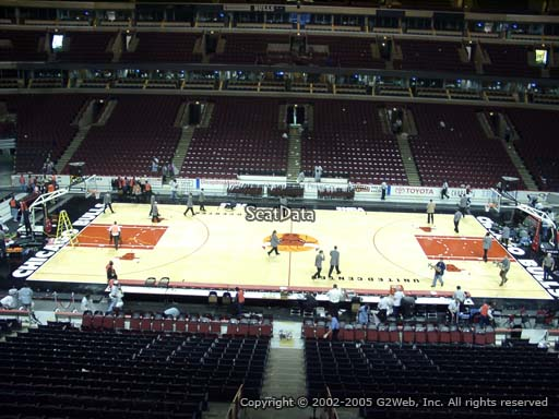 Seat view from section 234 at the United Center, home of the Chicago Bulls