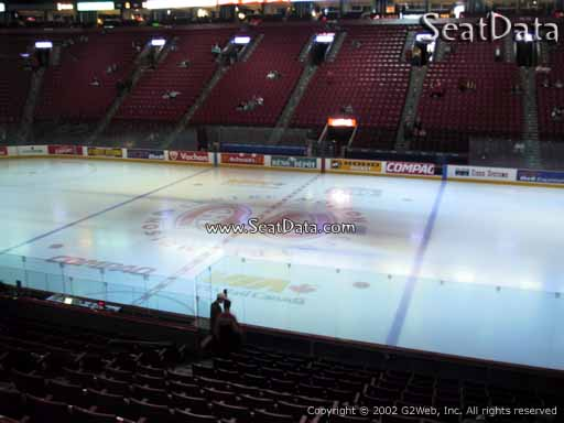 Seat view from section 112 at the Bell Centre, home of the Montreal Canadiens