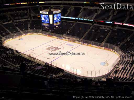 Seat view from section 404 at Capital One Arena, home of the Washington Capitals