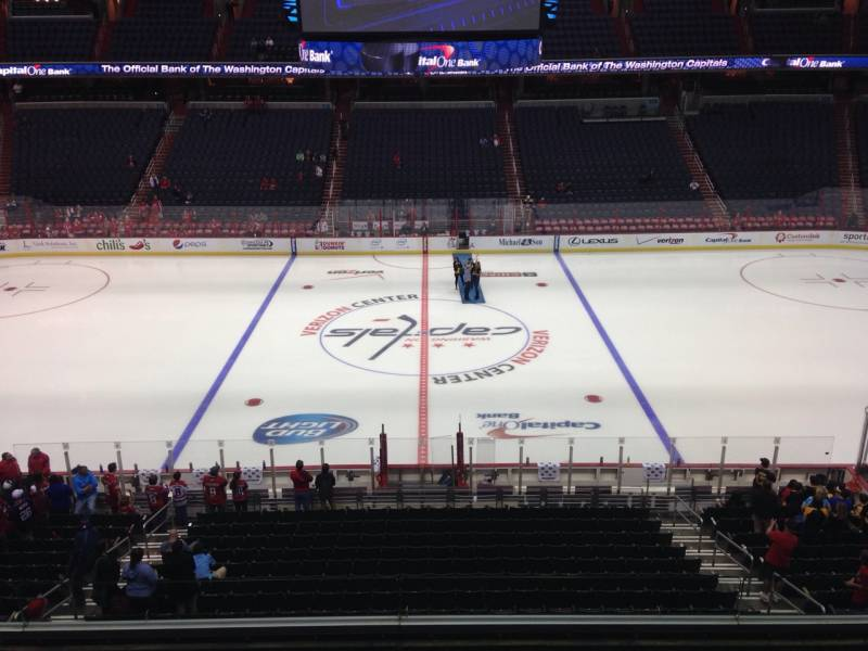 Seat view from section 200 at Capital One Arena, home of the Washington Capitals