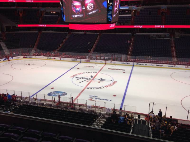 Seat view from section 201 at Capital One Arena, home of the Washington Capitals