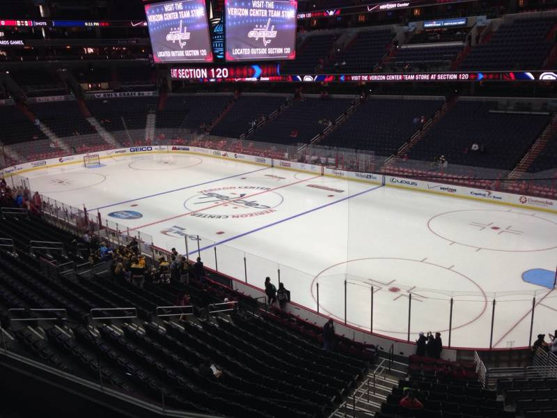 Seat view from section 204 at Capital One Arena, home of the Washington Capitals