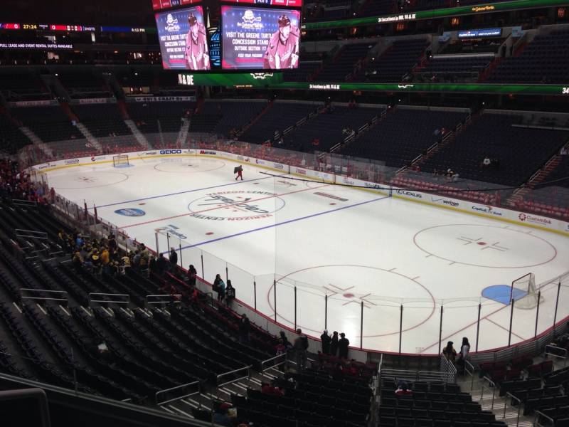 Seat view from section 205 at Capital One Arena, home of the Washington Capitals