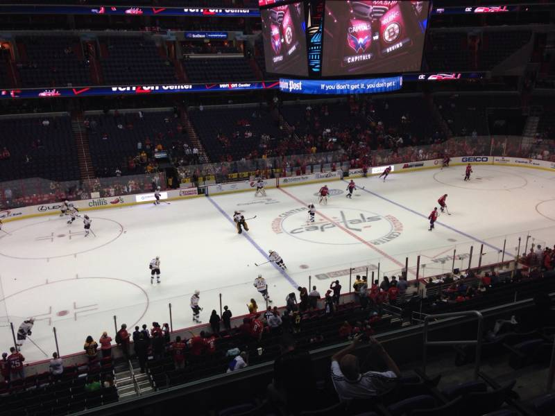 Seat view from section 213 at Capital One Arena, home of the Washington Capitals