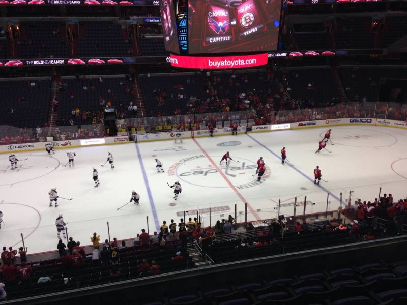 Seat view from section 214 at Capital One Arena, home of the Washington Capitals
