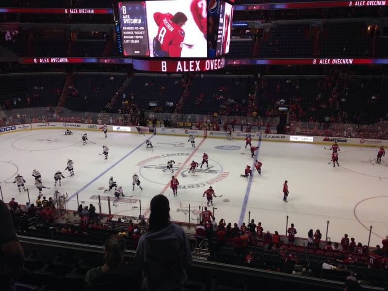 Seat view from section 216 at Capital One Arena, home of the Washington Capitals