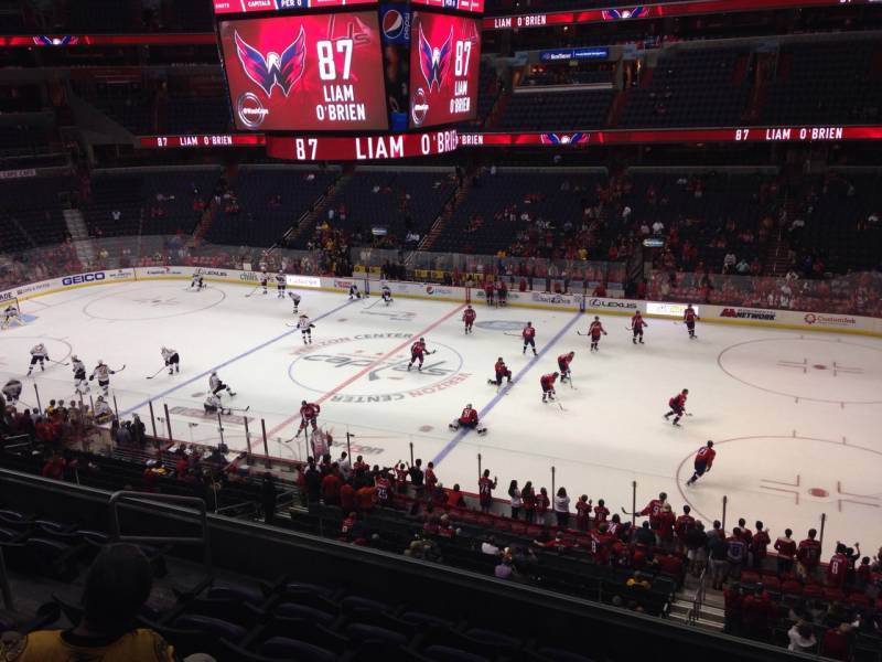 Seat view from section 217 at Capital One Arena, home of the Washington Capitals