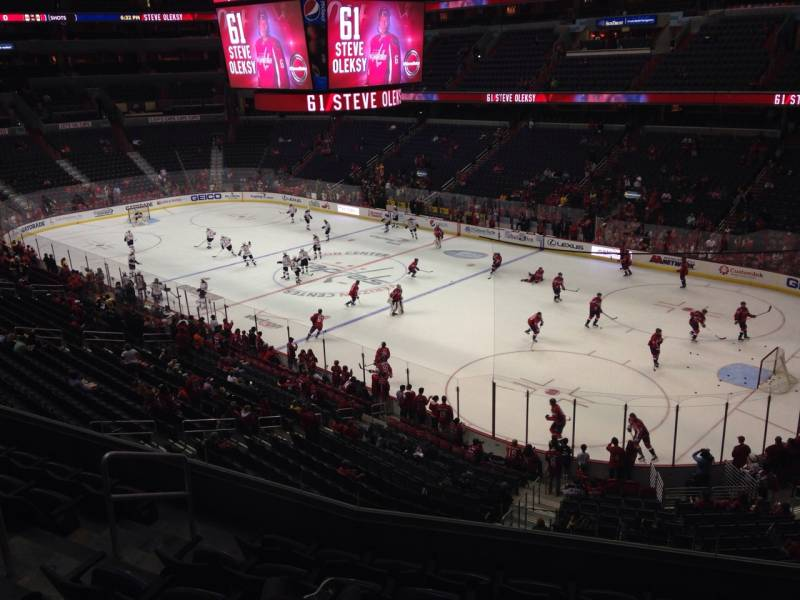 Seat view from section 219 at Capital One Arena, home of the Washington Capitals
