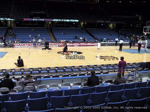 Seat view from section 108 at Quicken Loans Arena, home of the Cleveland Cavaliers