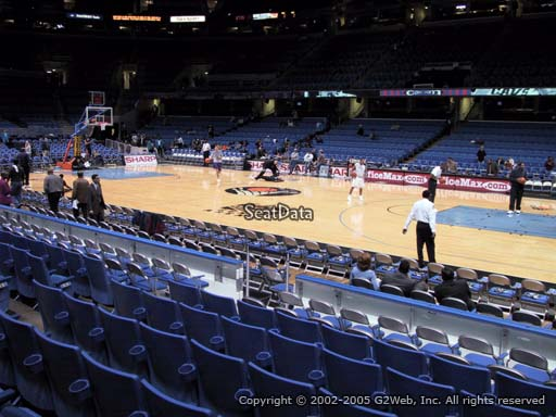 Seat view from section 110 at Quicken Loans Arena, home of the Cleveland Cavaliers