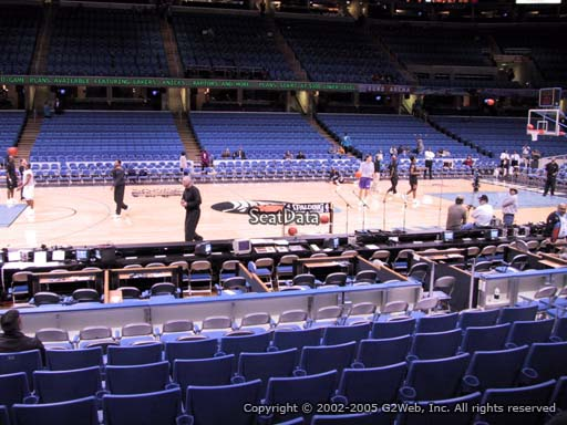 Seat view from section 125 at Quicken Loans Arena, home of the Cleveland Cavaliers