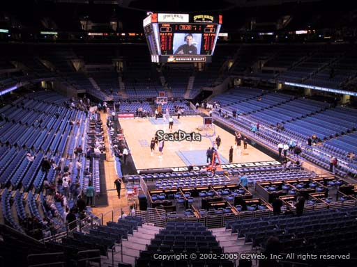 Seat view from section 133 at Quicken Loans Arena, home of the Cleveland Cavaliers
