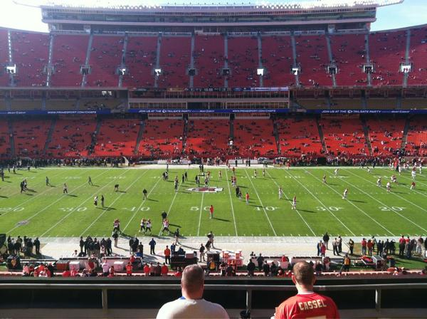 Seat view from section 201 at Arrowhead Stadium, home of the Kansas City Chiefs
