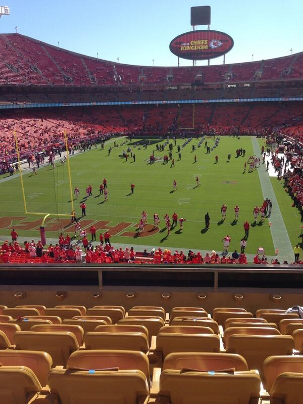 Seat view from section 234 at Arrowhead Stadium, home of the Kansas City Chiefs