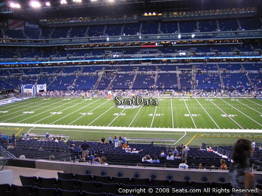 Section 212 at Lucas Oil Stadium