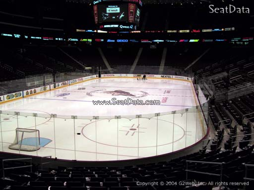 Seat view from section 105 at Gila River Arena, home of the Arizona Coyotes
