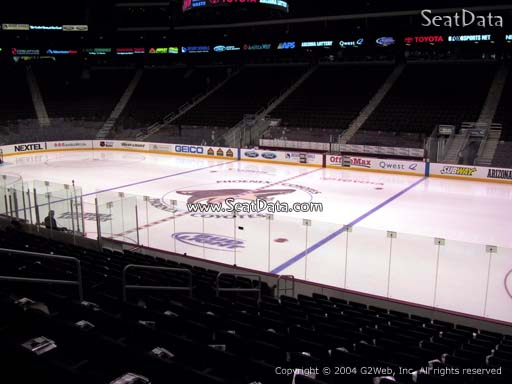 Seat view from section 110 at Gila River Arena, home of the Arizona Coyotes