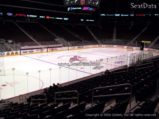 Seat view from section 114 at Gila River Arena, home of the Arizona Coyotes