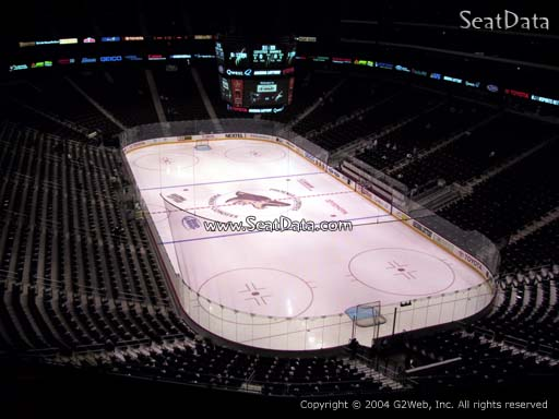 Seat view from section 210 at Gila River Arena, home of the Arizona Coyotes