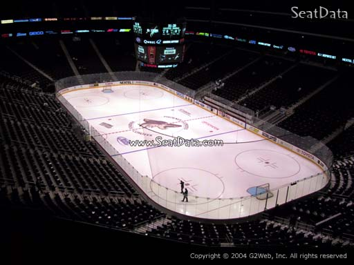Seat view from section 211 at Gila River Arena, home of the Arizona Coyotes