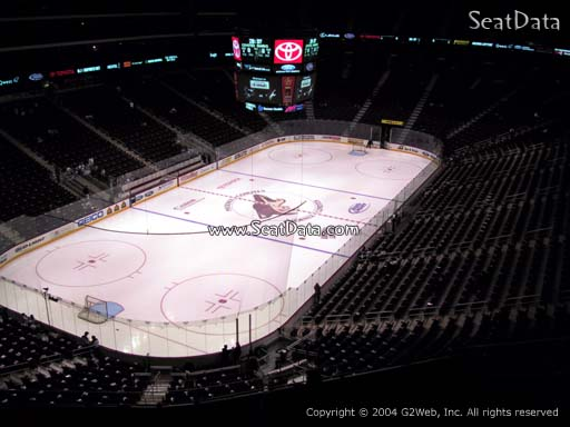 Seat view from section 220 at Gila River Arena, home of the Arizona Coyotes