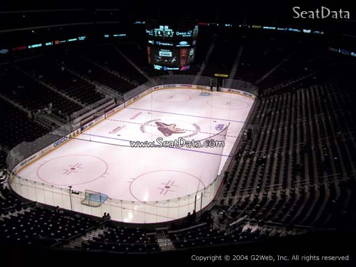 Seat view from section 221 at Gila River Arena, home of the Arizona Coyotes