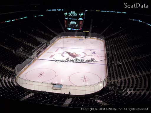 Seat view from section 222 at Gila River Arena, home of the Arizona Coyotes
