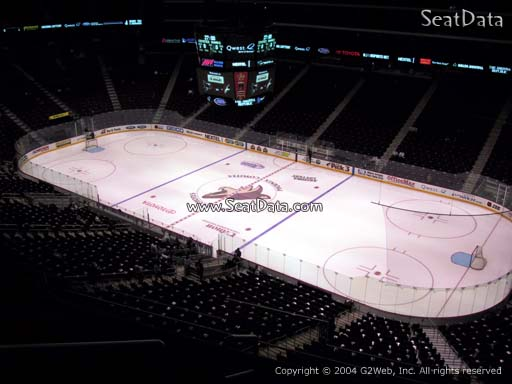 Seat view from section 227 at Gila River Arena, home of the Arizona Coyotes