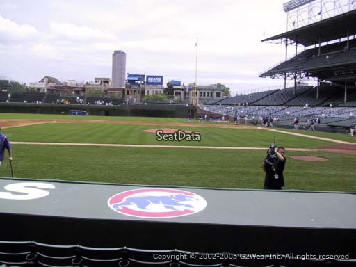 Seat view from section 15 at Wrigley Field, home of the Chicago Cubs