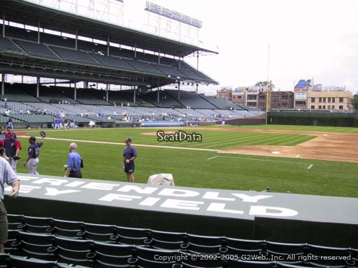 Seat view from section 31 at Wrigley Field, home of the Chicago Cubs