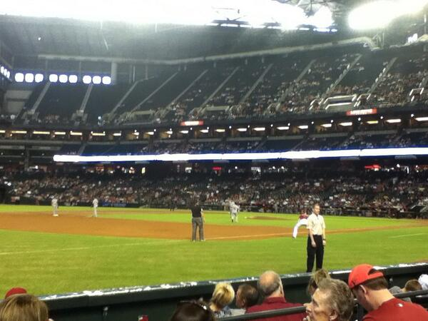 View from Section S at Chase Field.