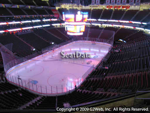 Seat view from section 106 at the Prudential Center, home of the New Jersey Devils