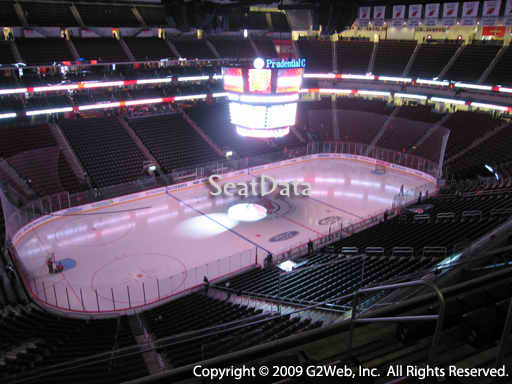 Seat view from section 108 at the Prudential Center, home of the New Jersey Devils