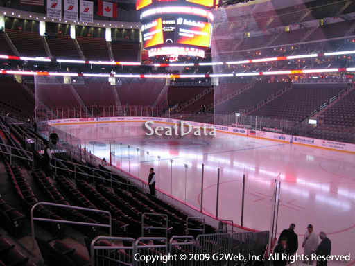 Seat view from section 11 at the Prudential Center, home of the New Jersey Devils